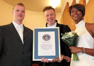 langste echtpaar ter wereld getrouwd door Michel Rahn