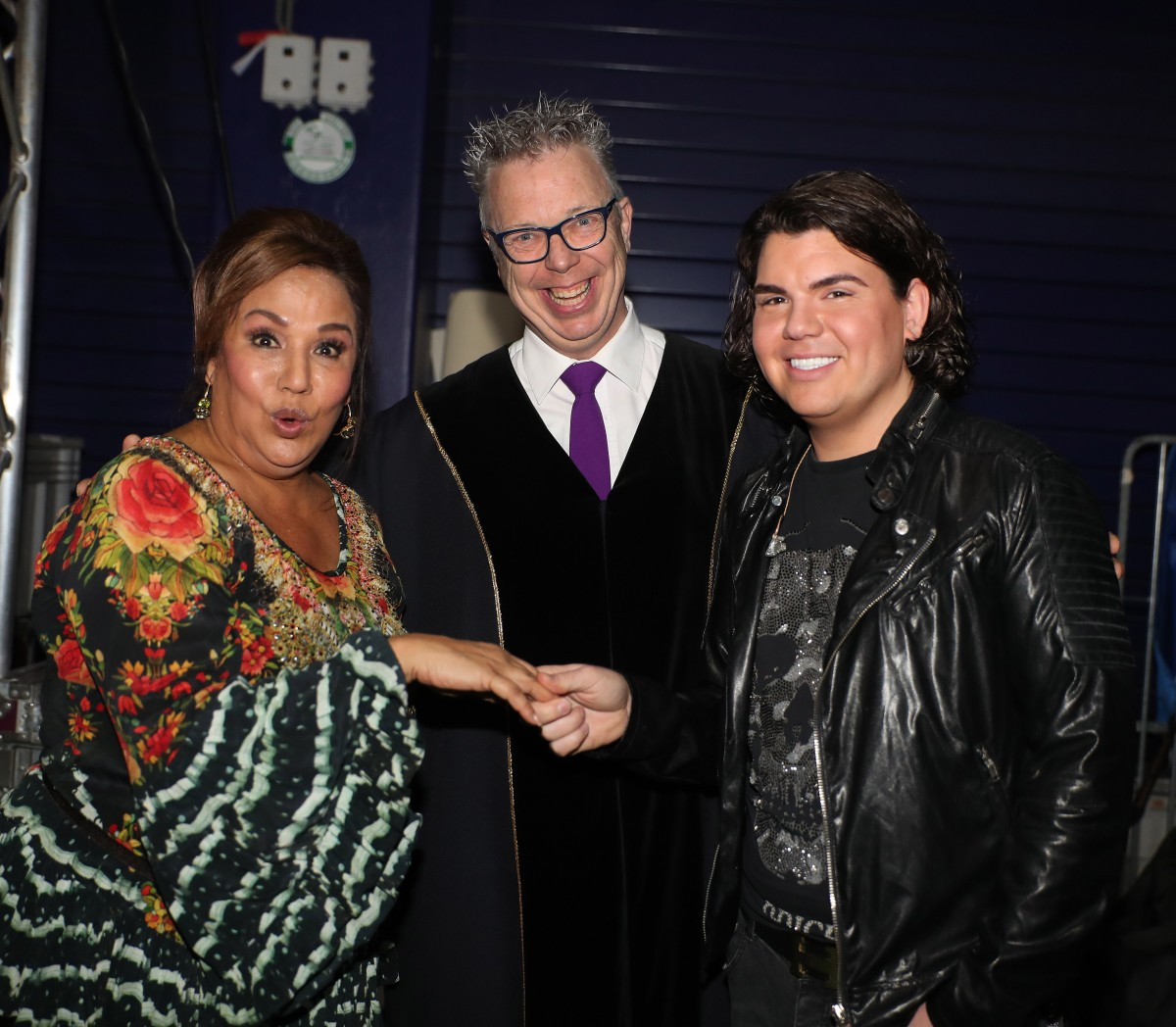 Roy Donders en Patty Brard