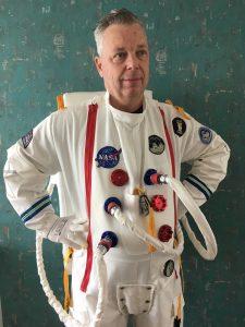 Astronaut Michel Rahn