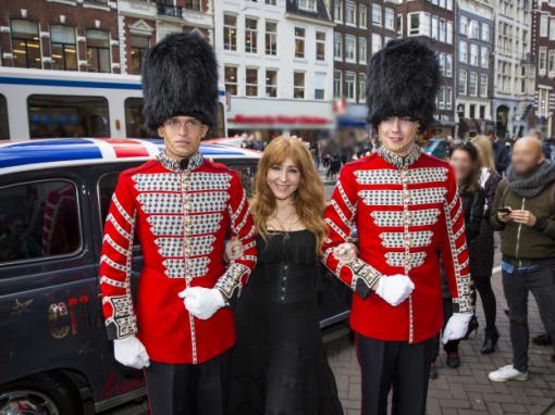 Huur je eigen Royal Guards voor je Engelse Thema evenement