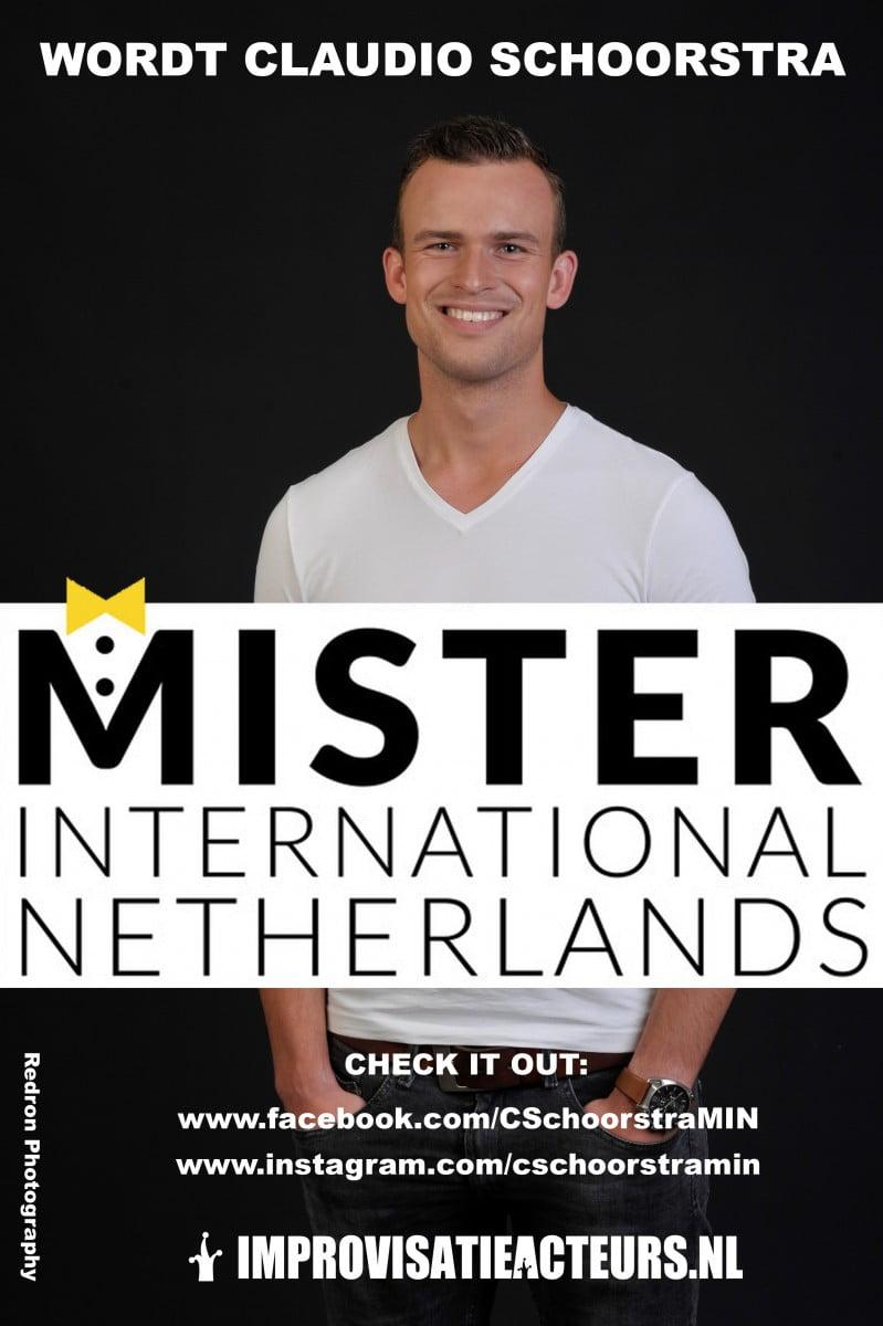 Claudio Schoorstra Mr. International Netherlands
