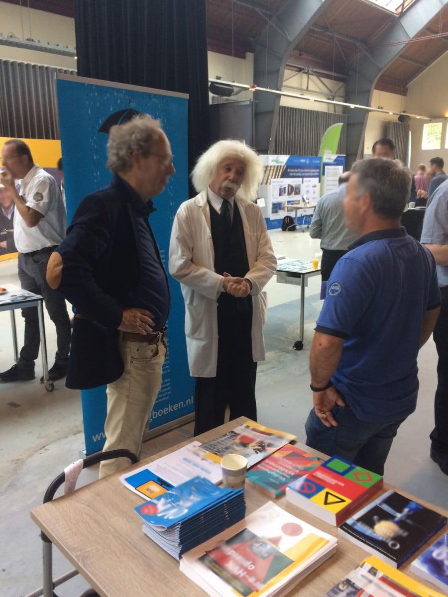 Einstein in gesprek