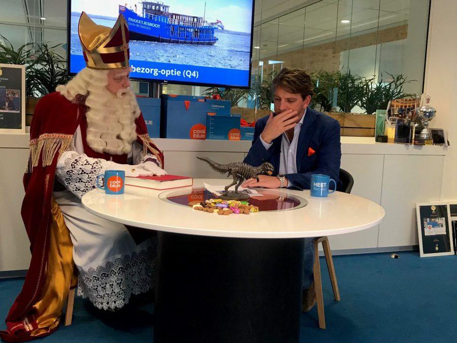 Pieter Zwart heeft een idee voor Sinterklaas