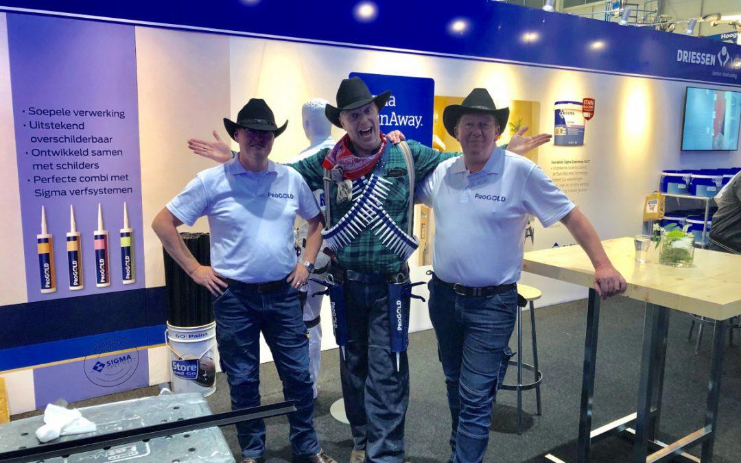 Cowboy Billy the Kitter op de SGAVakdagen in Gorinchem