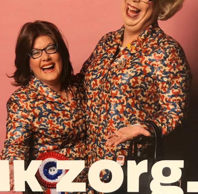 De Dames zijn op de 15e editie van Gezond en Zeker