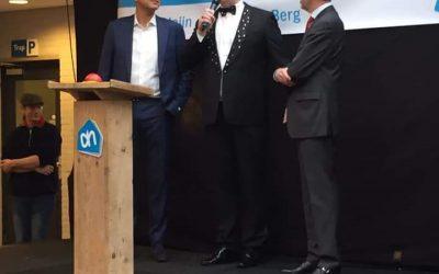 Spektakel heropening Albert Heijn Jos van den Berg
