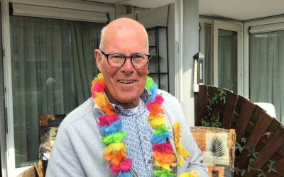 81 jarige Piet verrast met Koffiedefilé