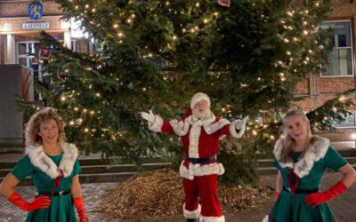 Kerstman heeft u een bonnetje?